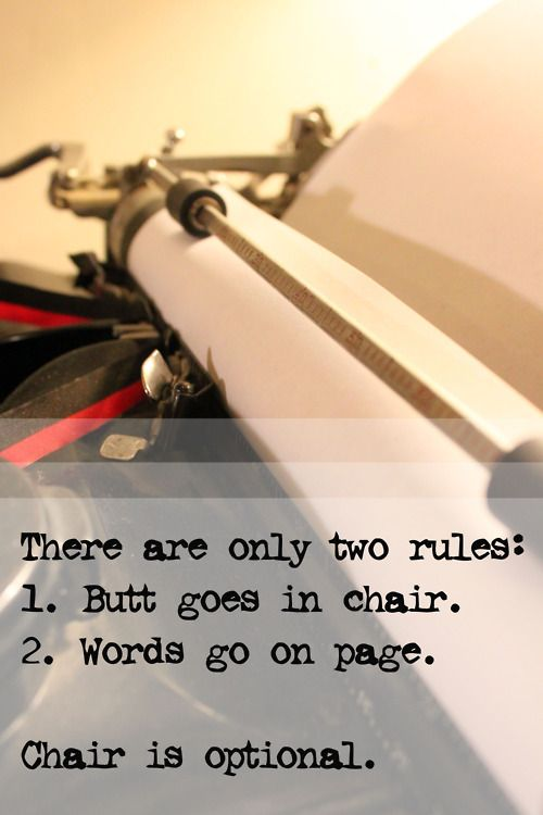 Two rules of writing